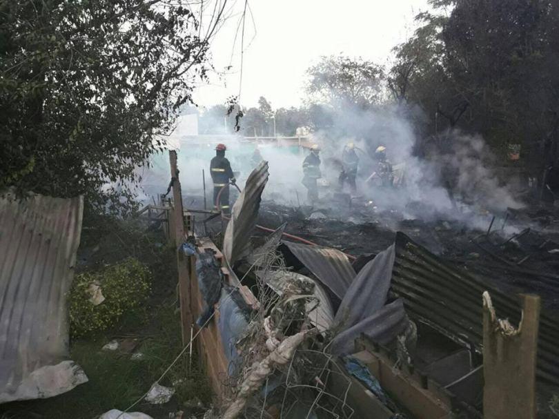 incendio en grand bourg