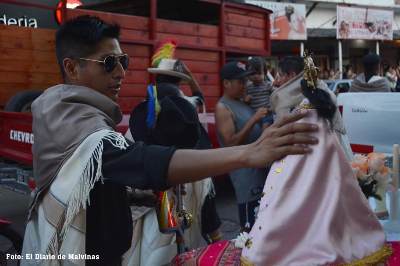 Celebración en honor a la virgen Copacabana 2018