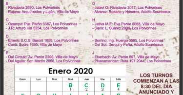Farmacias de turno: Ing. Adolfo Sourdeaux - Villa de Mayo - Los Polvorines