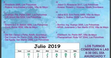 Mes de julio: Ing. Adolfo Sourdeaux - Villa de Mayo - Los Polvorines