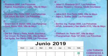 Mes de junio: Ing. Adolfo Sourdeaux - Villa de Mayo - Los Polvorines