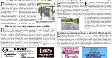 Edición Nro 6  de El Diario de Malvinas