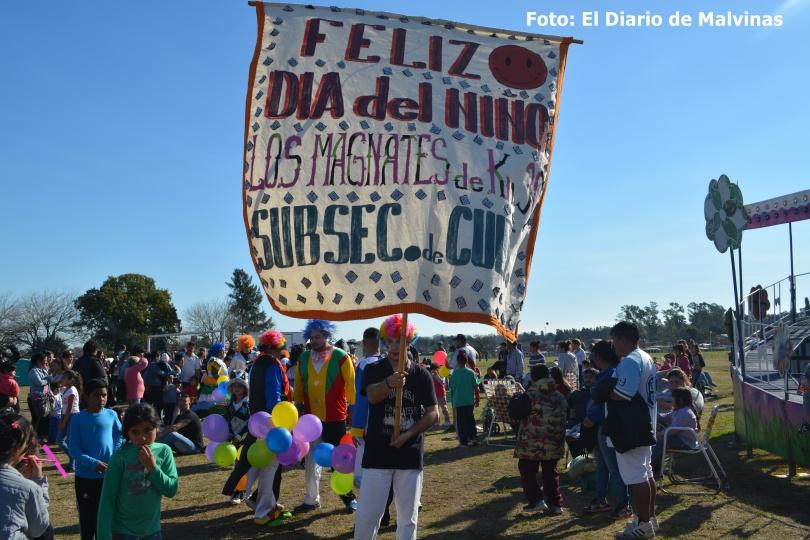 Día del niño en Villa de Mayo