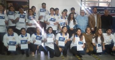 Entrega diplomas Espacio inclusivo
