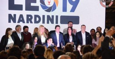 Presentación de lista Frente de Todos Malvinas Argentinas