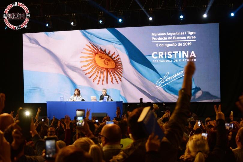 CFK en Tortuguitas