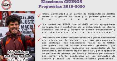 Candidato a Presidente: Julián Battistessa