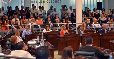 Leonardo Nardini asumió como intendente reelecto de Malvinas Argentinas