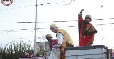 Los Magnates de KM 30 junto a los Reyes Magos 2020