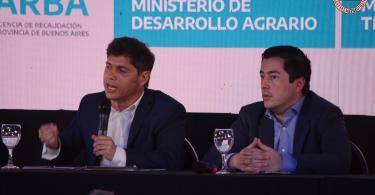 Axel Kicillof en Malvinas Argentinas